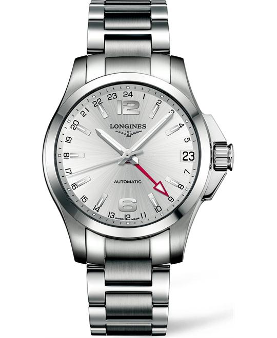 LONGINES Conquest L3.687.4.76.6 Automatic Watch 41mm