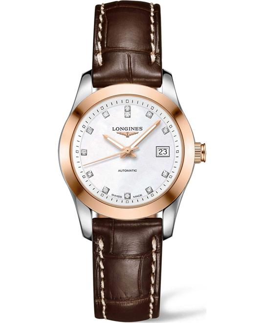 LONGINES Conquest L2.385.5.87.3 Classic Automatic Watch 34mm