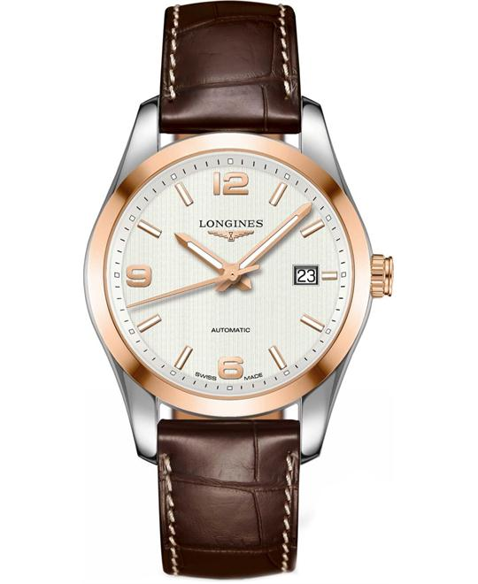 Longines Conquest L2.785.5.76.3 Automatic Watch 40mm