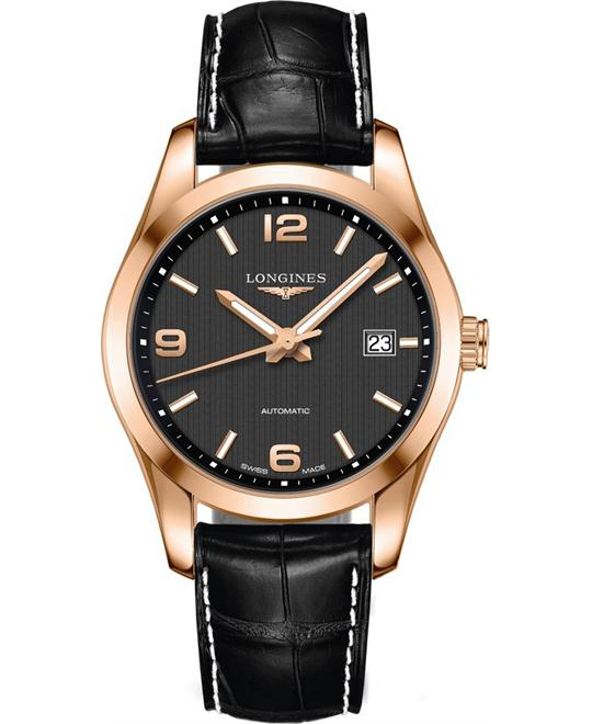 LONGINES Conquest L2.785.8.56.3 Automatic Watch 40mm