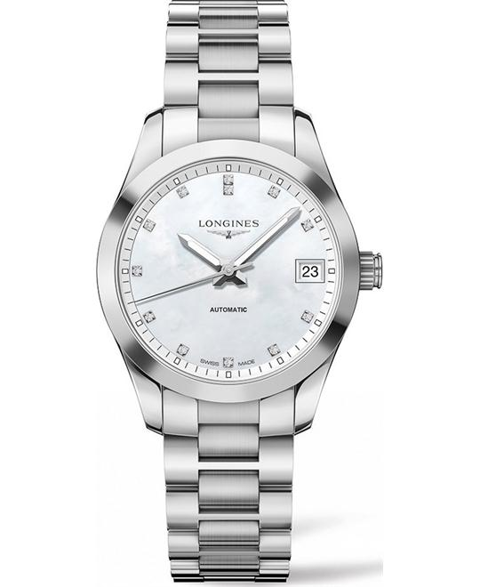 LONGINES CONQUEST L23854876 CLASSIC AUTOMATIC 34MM