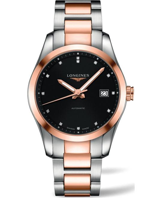LONGINES Conquest L27855587 Diamond Watch 40mm