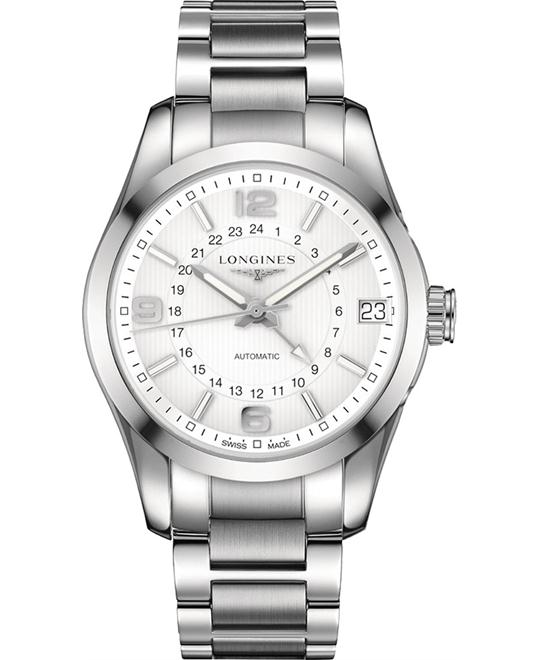 LONGINES Conquest L27994766 GMT Watch 42mm