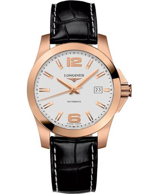 Longines Conquest L3.676.8.76.3 Automatic Watch 39mm