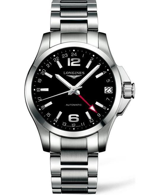 Longines Conquest L3.687.4.56.6 Automatic Watch 41mm