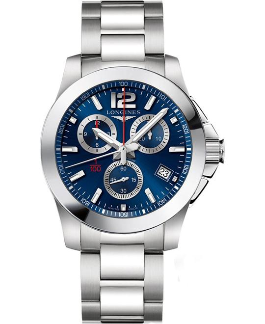 LONGINES Conquest L3.700.4.96.6 Watch 41mm
