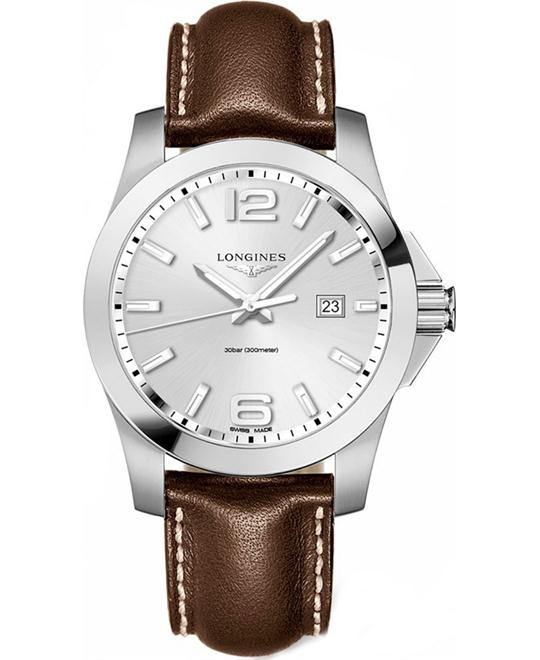 LONGINES Conquest  L3.760.4.76.5 Men's Watch 43mm