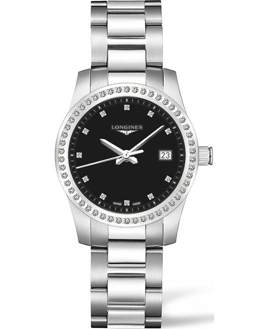Longines Conquest L34010576 Diamond Watch 36mm