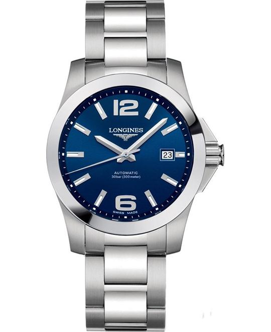 Longines Conquest L36764996 Automatic Watch 39mm