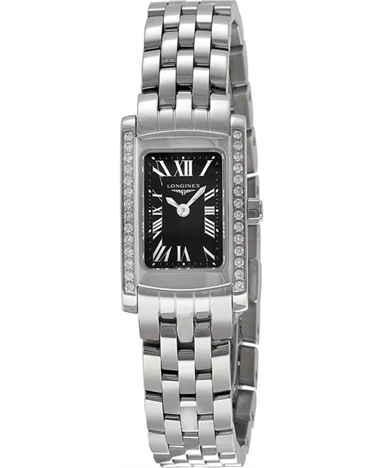 LONGINES DolceVita L51580796 Black Ladies Watch 16x26mm