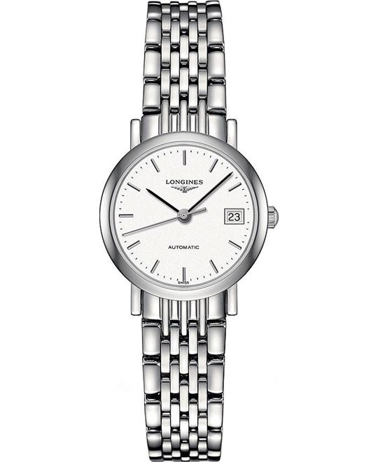 LONGINES Elegant L4.309.4.12.6 Ladies Watch 25.5mm