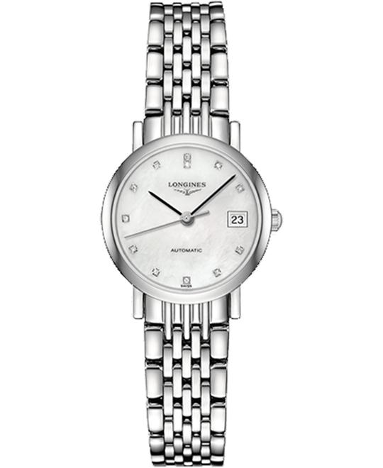 Longines Elegant L4.309.4.87.6 Automatic Watch 25.5mm