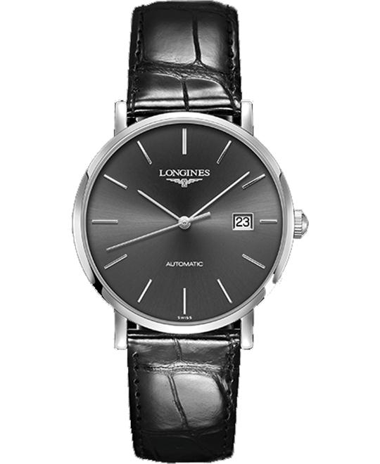 LONGINES Elegant L4.910.4.72.2 Automatic Watch 39mm