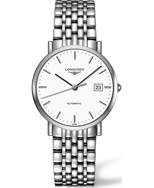 LONGINES Elegant L4.810.4.12.6 Automatic Watch 37mm