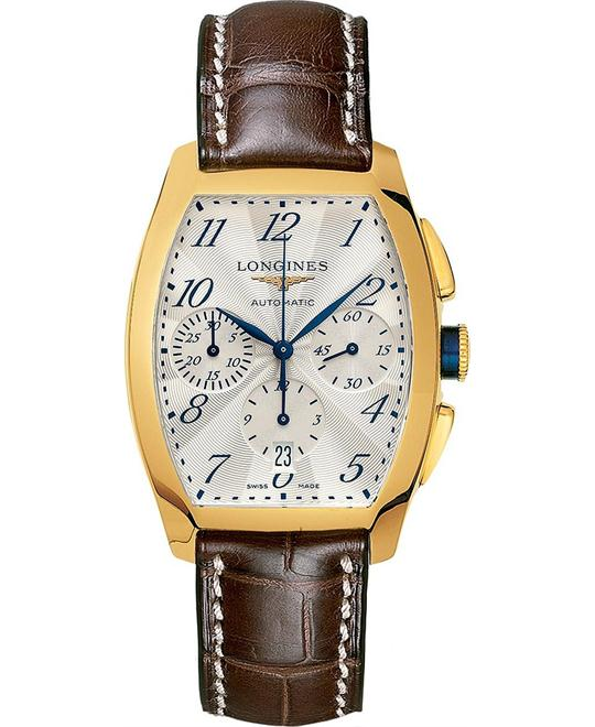 Longines Evidenza L2.643.6.73.2 Automatic 18k Watch 35x40mm