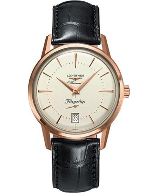 Longines Flagship Heritage L4.795.8.78.2 Watch 39mm