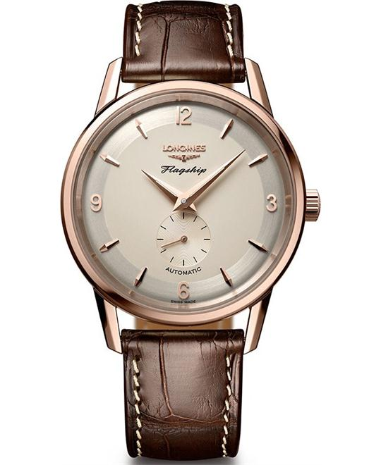 LONGINES Flagship Heritage L4.817.8.76.2 Watch 38,5 mm