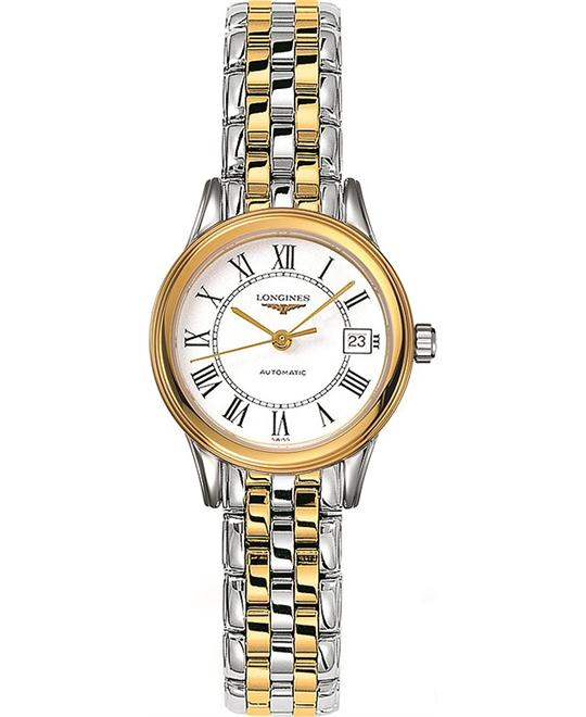 Longines Flagship L4.274.3.21.7 Automatic Ladies Watch 26mm