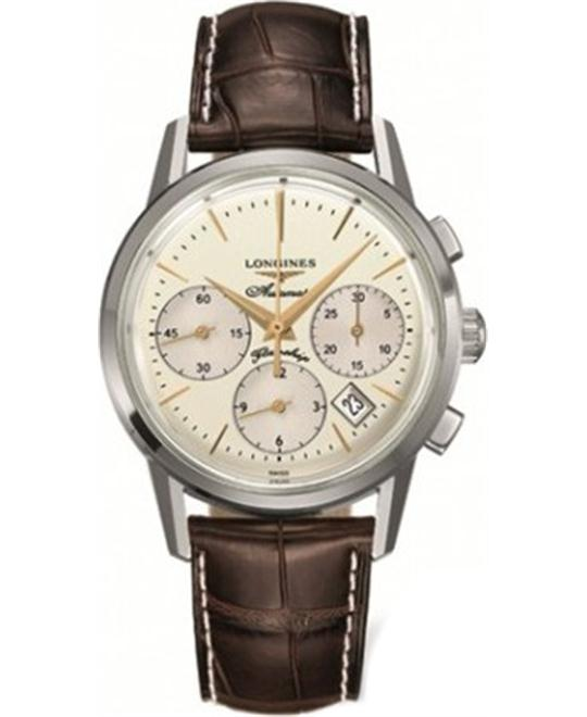 Longines Flagship L4.796.4.78.2 Heritage Watch 40mm