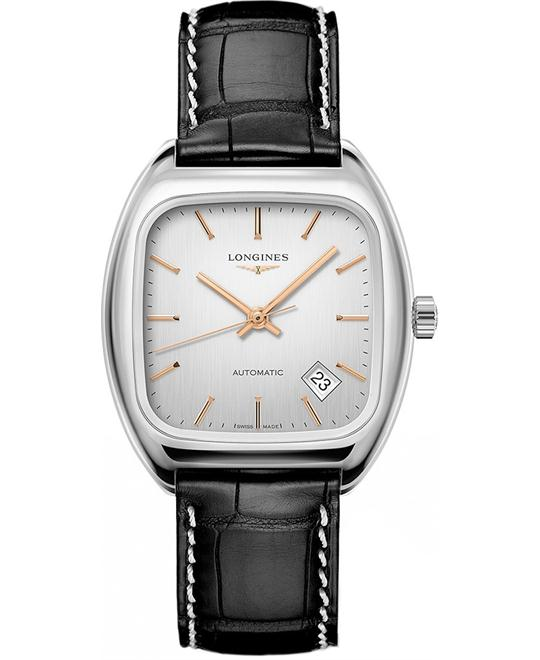 Longines Heritage L2.310.4.72.0 Classic Watch 36mm