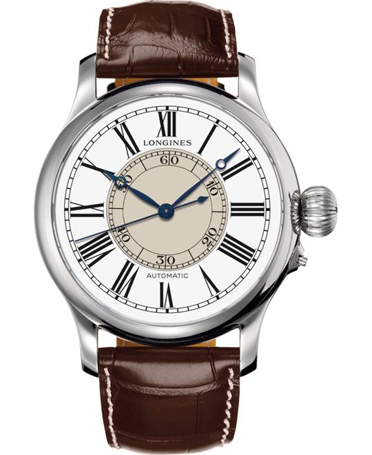 Longines L2.713.4.11.2 Heritage Weems Second 47.5mm