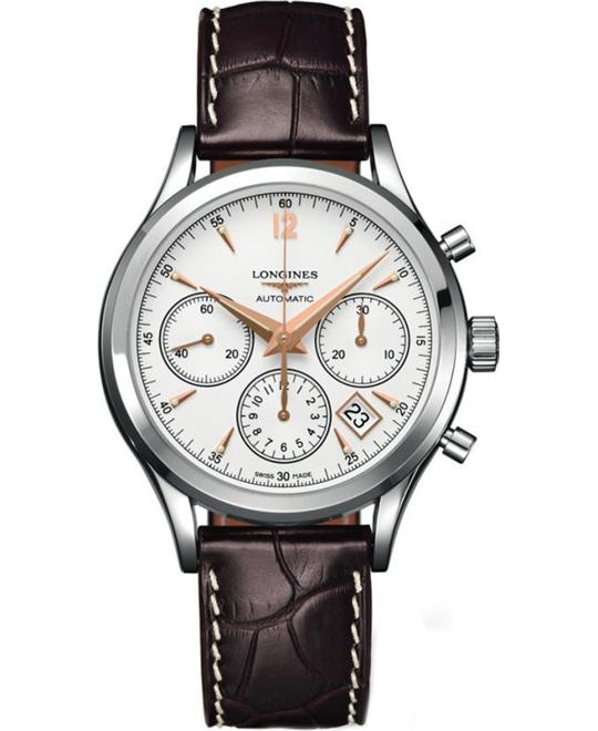 Longines L2.750.4.76.2 Heritage Chronograph Automatic 41mm