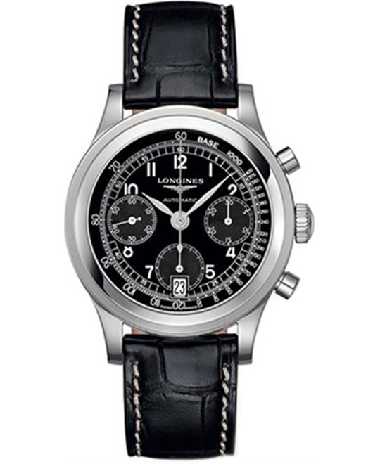 Longines Heritage L2.768.4.53.2 Automatic Watch 40mm