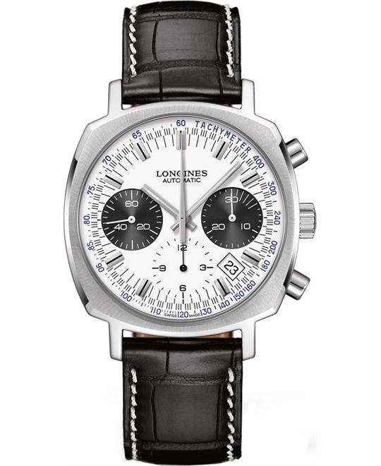 Longines Heritage L2.791.4.72.0 Chronograph Watch 40mm