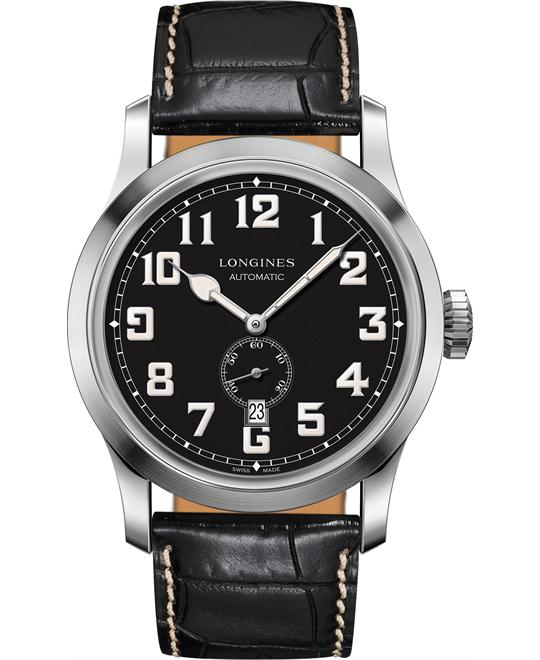 Longines L2.811.4.53.0 Heritage Military 44mm