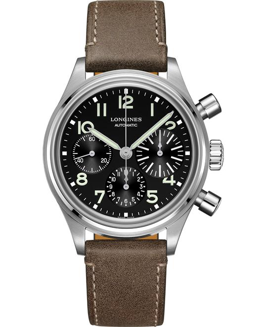 Longines L2.816.4.53.2 Heritage Avigation Bigeye 41mm