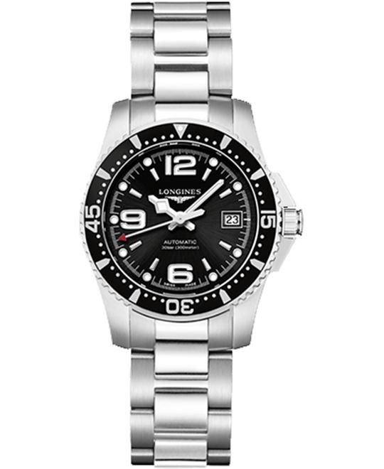 Longines HydroConquest L3.284.4.56.6 Automatic Watch 29mm