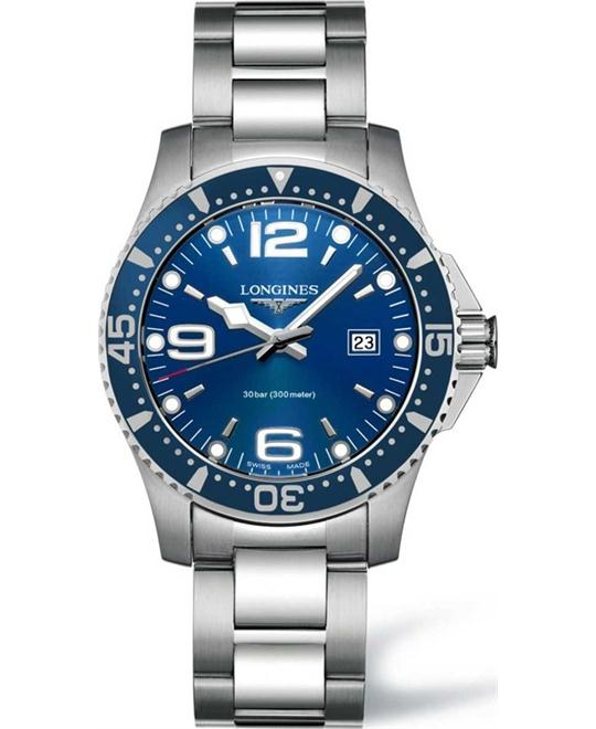 Longines HydroConquest L3.640.4.96.6 Watch 39mm