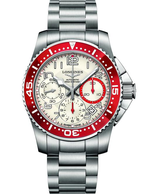 LONGINES HydroConquest L3.696.4.19.6 Automatic Watch 41mm