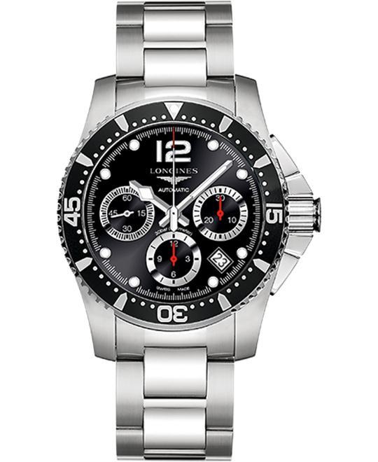 LONGINES Hydroconquest L3.744.4.56.6 Automatic Watch 41mm