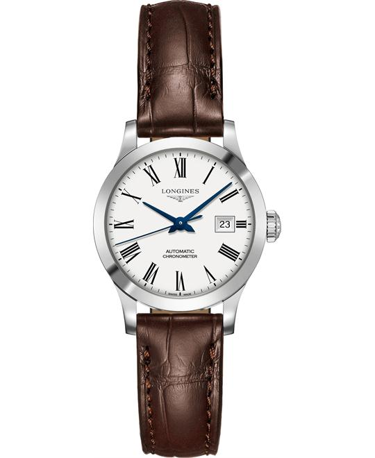 Longines L2.321.4.11.2 Record Watch 30mm