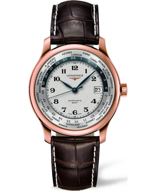 Longines L2.631.8.70.3 Master Collection Worldtime 38.5mm