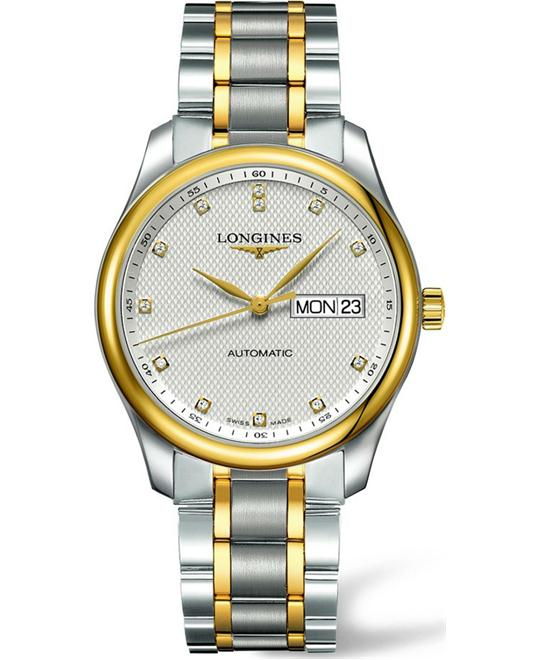 Longines L2.755.5.77.7 Master Men's Watch 38.5mm