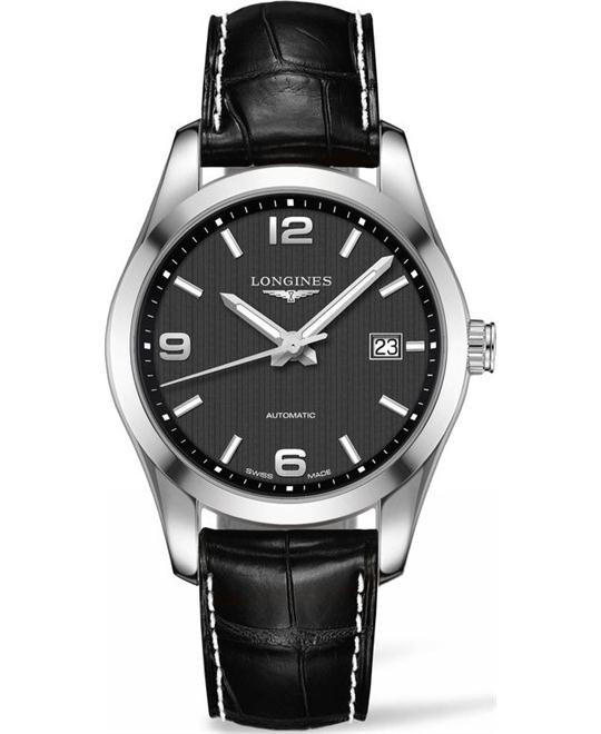 Longines L2.785.4.56.5 Conquest Watch 40mm