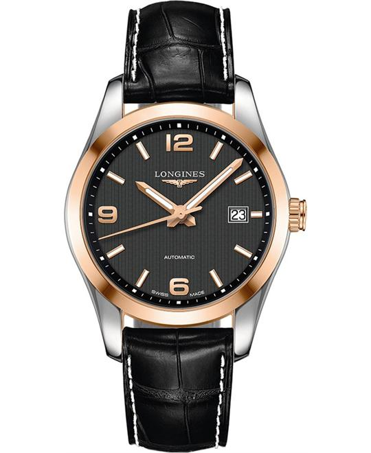 Longines L2.785.5.56.3  Conquest Watch 40mm