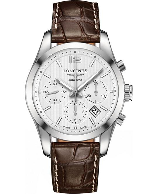 Longines L2.786.4.76.3 Conquest Watch 41mm