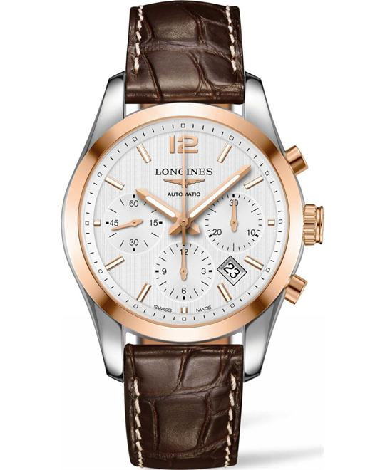 Longines L2.786.5.76.5 Conquest Watch 41mm