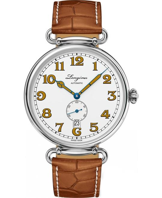 LONGINES L2.809.4.23.2 Heritage 1918 Auto Watch 41mm