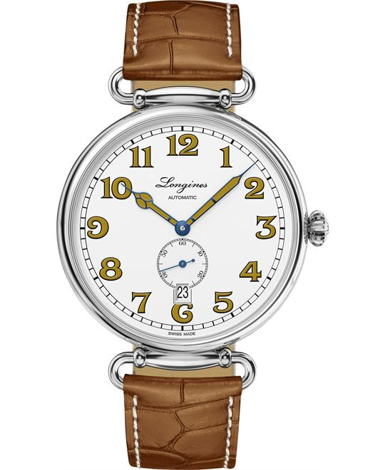Longines L2.809.4.23.4 Heritage Watch 41mm