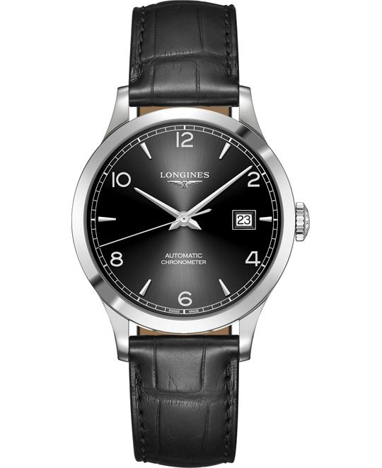 Longines L2.820.4.56.2 Record Watch 38.5mm