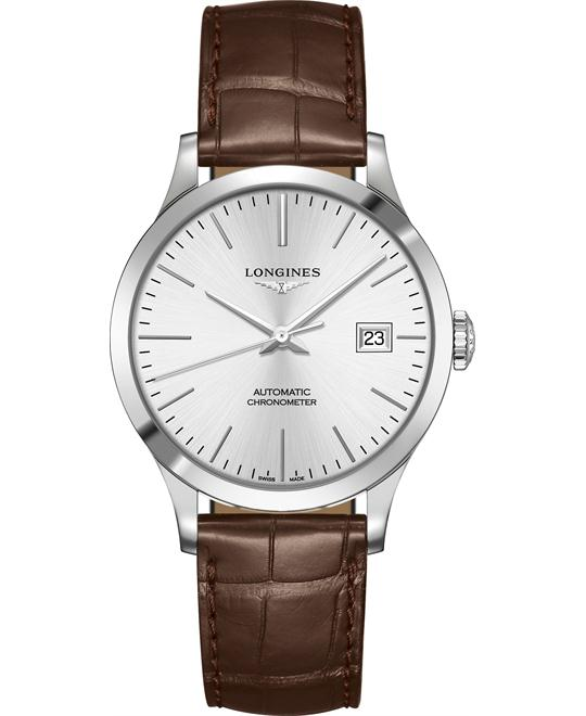 Longines L2.820.4.72.2 Record Watch 38.5mm
