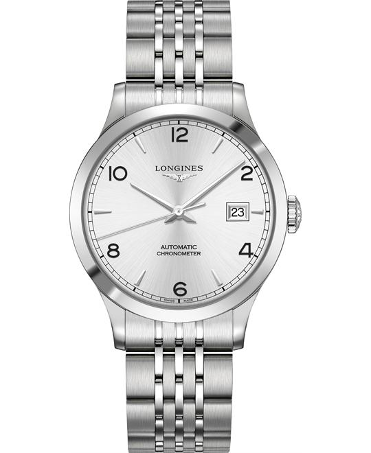 Longines L2.820.4.76.6 Record Watch 38.5mm