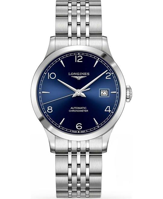Longines L2.820.4.96.6 Record 38.5mm