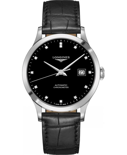 Longines L2.821.4.57.2 Record Watch 40mm