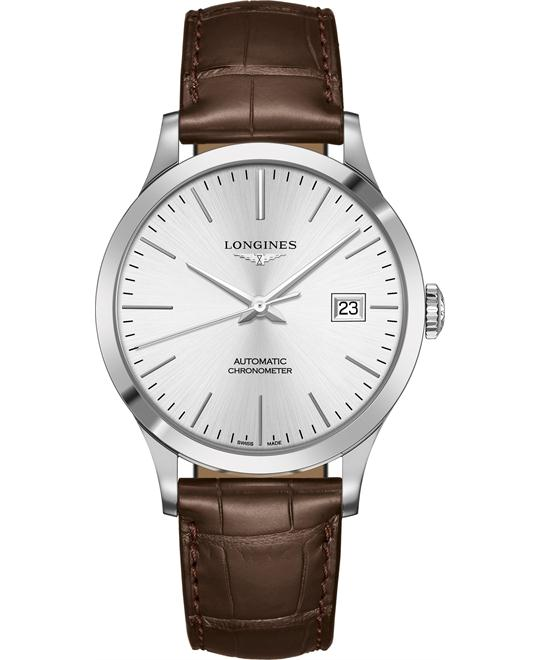 Longines L2.821.4.72.2 Record Watch 40mm