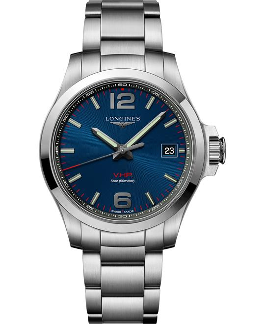 Longines L3.716.4.96.6 Conquest Watch 41mm